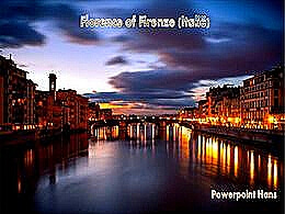 diaporama pps Florence en Italie