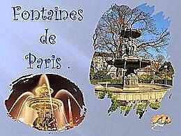 diaporama pps Fontaines de Paris