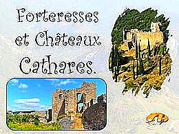 diaporama pps Forteresses et châteaux Cathares
