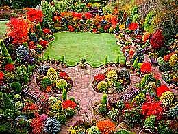 diaporama pps Four seasons garden england