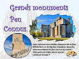 diaporama pps Grands monuments peu connus