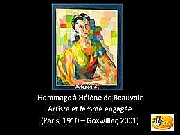 diaporama pps Hélène de Beauvoir