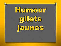 diaporama pps Humour gilets jaunes