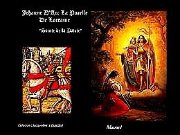 diaporama pps Jeanne d'Arc son histoire et son mystère