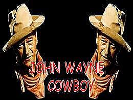 diaporama pps John Wayne cowboy
