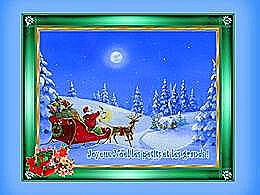diaporama pps Joyeux Noël les petits et les grands
