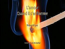 diaporama pps L'amour quand il s'enflamme