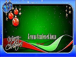 diaporama pps L'esprit de Noël