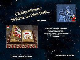 diaporama pps L'histoire du Père-Noël revisitée