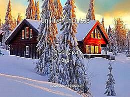 diaporama pps L'hiver en Suisse