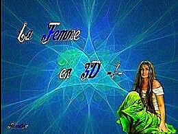 diaporama pps La femme en 3d I