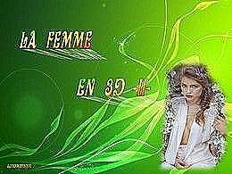diaporama pps La femme en 3d II
