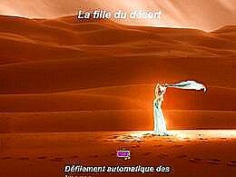 diaporama pps La fille du désert