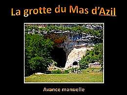 diaporama pps La grotte du Mas d'Azil
