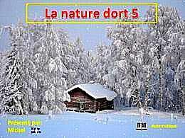 diaporama pps La nature dort