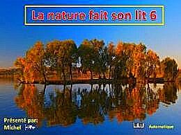 diaporama pps La nature fait son lit 6