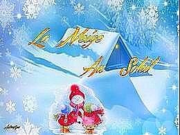 diaporama pps La neige au soleil