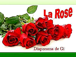 diaporama pps La rose