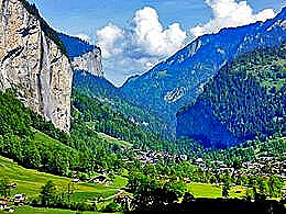 diaporama pps Lauterbrunnen valley