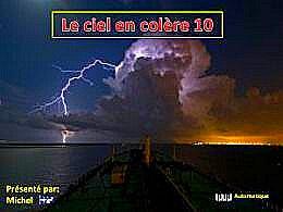 diaporama pps Le ciel en colère 10