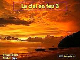 diaporama pps Le ciel en feu 3