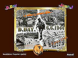diaporama pps Le débarquement en Normandie 6 Juin 1944