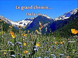 diaporama pps Le grand chemin