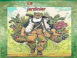 diaporama pps Le jardinier