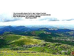 diaporama pps Le Massif Central et quatre de ses volcans