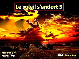diaporama pps Le soleil s'endort 5