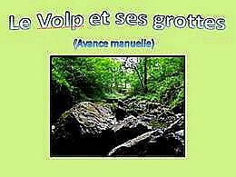 diaporama pps Le Volp et ses grottes
