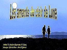 diaporama pps Les amants du clair de lune