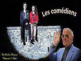 diaporama pps Les comédiens