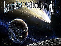 diaporama pps Les comètes vagabondes du ciels