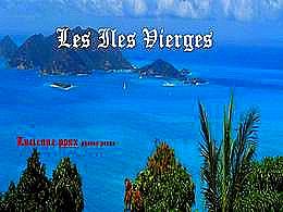 diaporama pps Les îles vierges