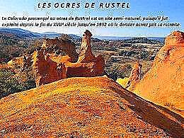 diaporama pps Les ocres de Rustel – Vaucluse