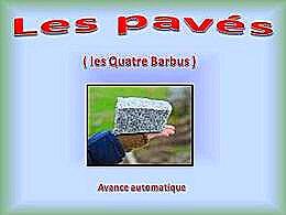 diaporama pps Les pavés