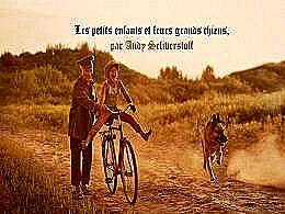 diaporama pps Les petits enfants et leurs grands chiens