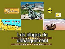diaporama pps Les plages du débarquement en Normandie