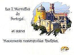 diaporama pps Les sept merveilles du Portugal