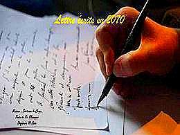 diaporama pps Lettre écrite en 2070