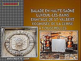 diaporama pps Luxeuil et Fougerolles Haute-Saône