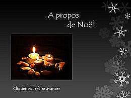 diaporama pps Méditation sur Noël