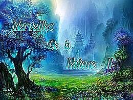 diaporama pps Merveilles de la nature II