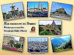 diaporama pps Mes vacances en France