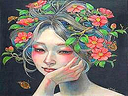 diaporama pps Miho Hirano peinture