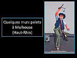 diaporama pps Mulhouse murs peints