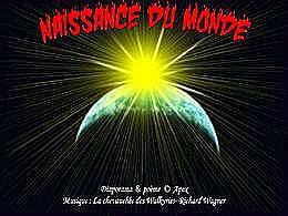 diaporama pps Naissance du monde