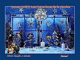 diaporama pps Noël précieux moment de rêve pour l'enfant