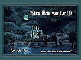 diaporama pps Notre Dame de Paris
